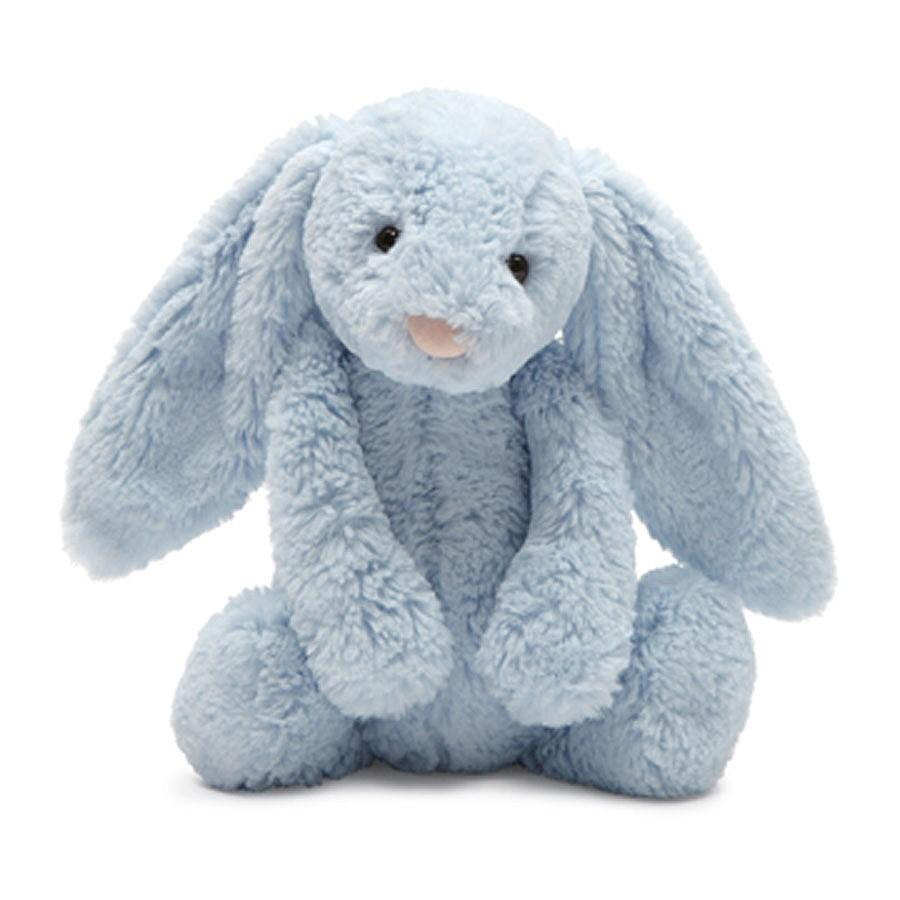 Jellycat Bashful Blue Bunny Chime 12 Rattles And Teethers Bunny Stuffed Animals Jellycat Stuffed Animals Jellycat Bunny
