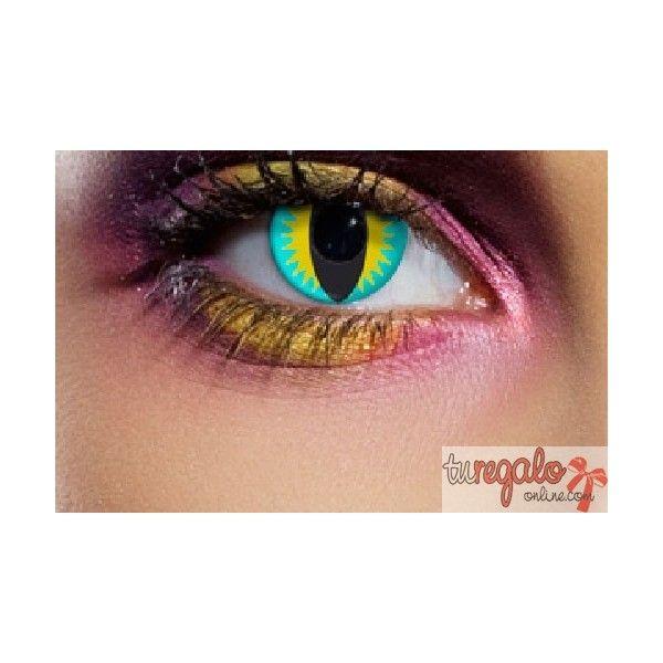 acc4b11c04575 Lentillas de fantasía ojos de Lagarto (trimestrales). Comprar LENTILLAS de  COLORES y de FANTASÍA Online. Tenemos las mejores LENTILLAS de COLORES sin  ...