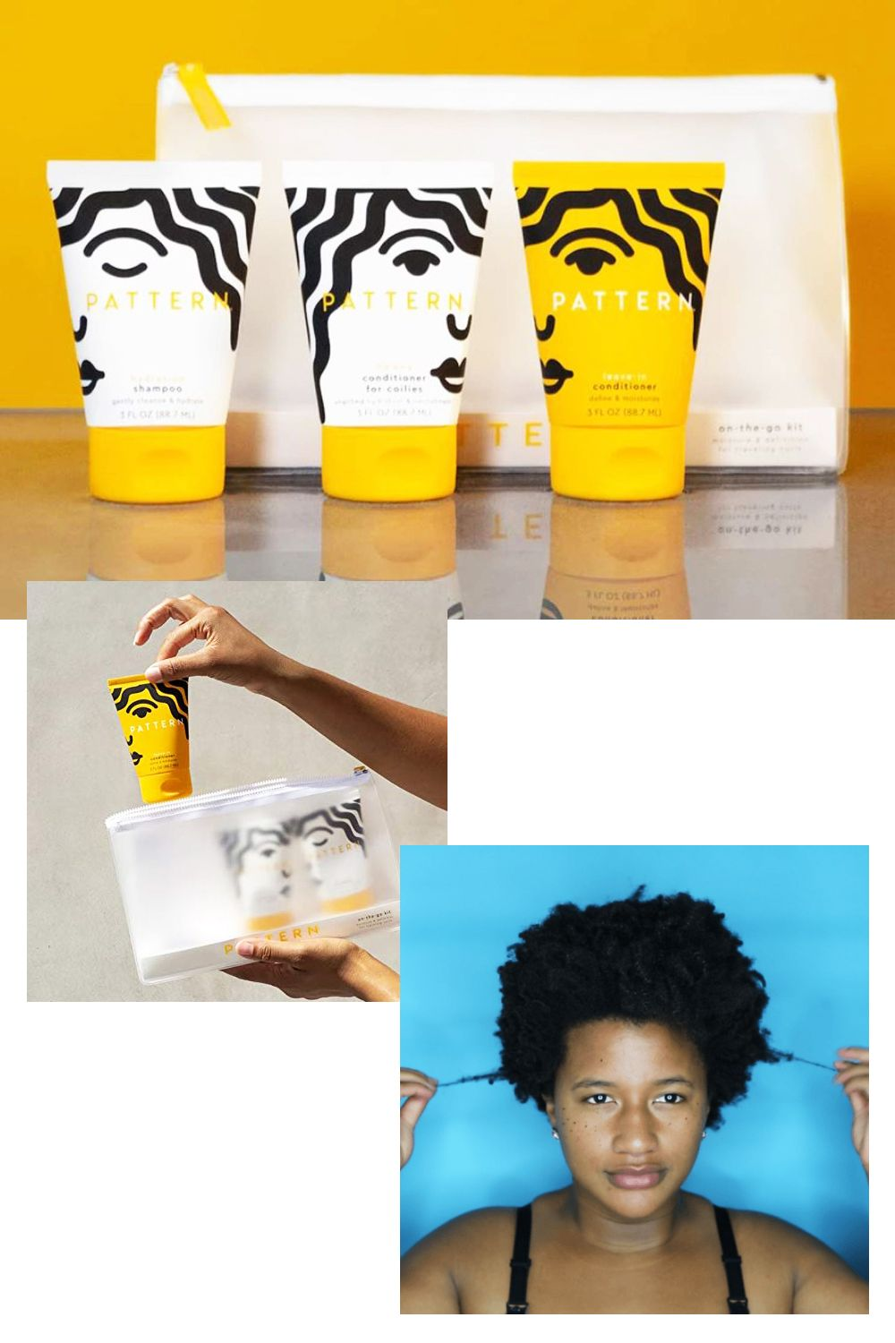 Tracee Ellis Ross Hair Care Products Pattern Beauty Hair