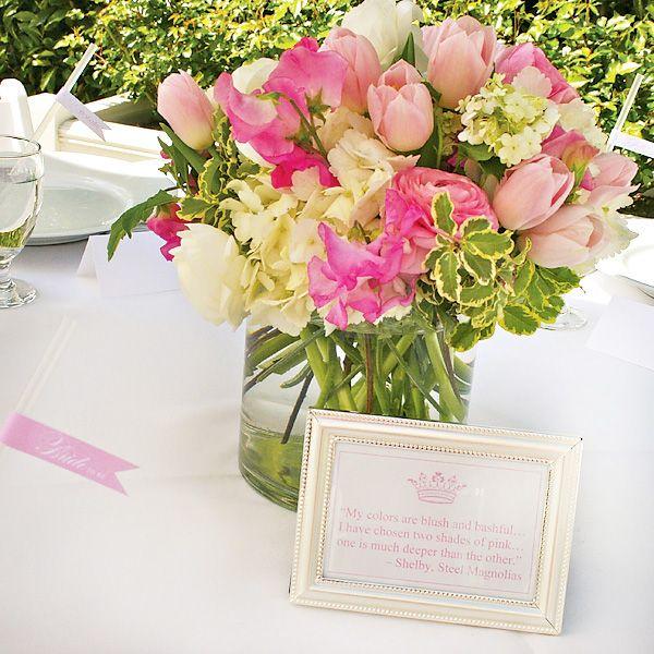 Eat pink be married bridal shower elle woods