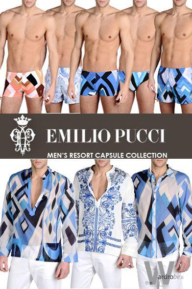 Pucci men's  resort wear