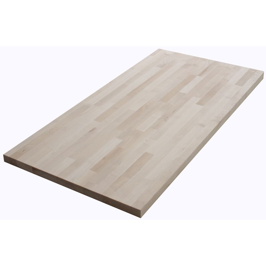 Shop The Baltic Butcher Block Natural Wood Kitchen Countertop Sample ...
