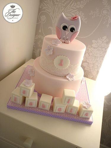 Awesome Owl 1St Birthday Cake 1St Birthday Cakes Owl 1St Birthdays 1St Funny Birthday Cards Online Hendilapandamsfinfo