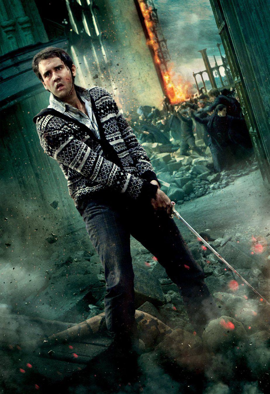 Postery Filma Garri Potter I Dary Smerti Chast 2 Harry Potter Poster Harry Potter Movies Neville Longbottom