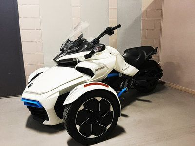 All Electric Can Am Spyder 105 Mile Range