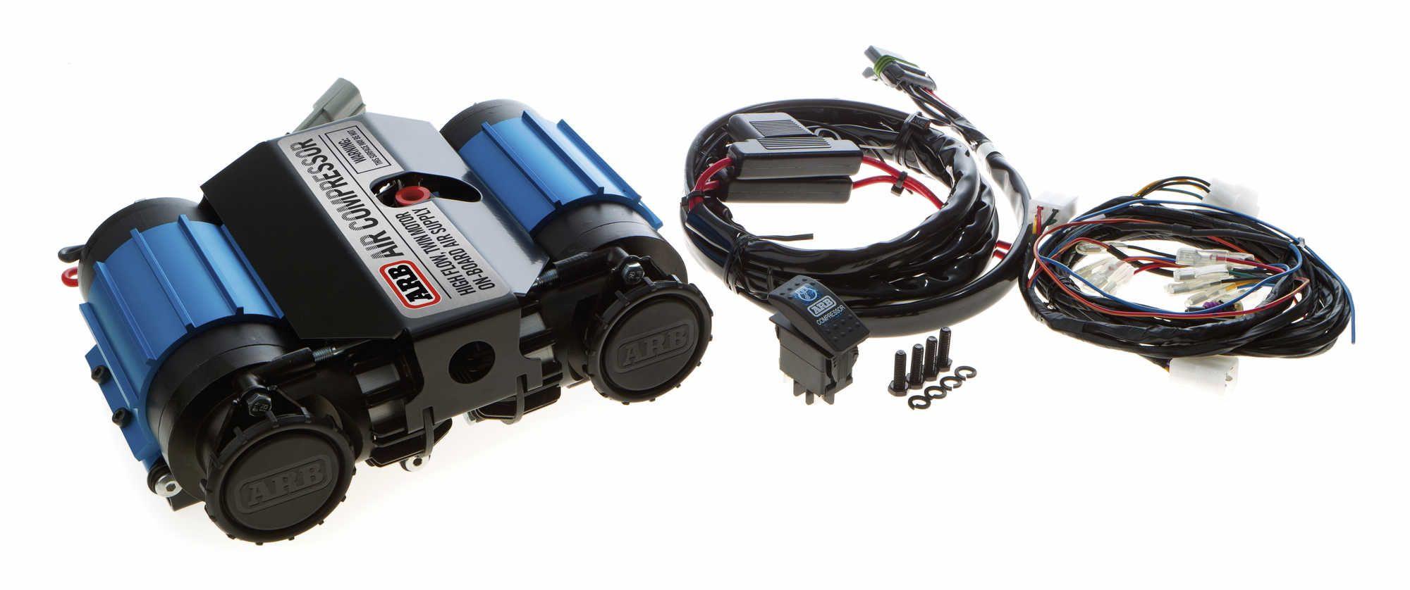 ARB On Board Twin Air Compressor Kit 4x4 accessories