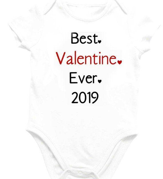 80274ae2a7756 Baby Valentines Day T-shirt Bodysuit Best Valentine Ever, Hello World  Infant Baby Outfit New Baby Valentine Gift, Newborn Birth Announcement
