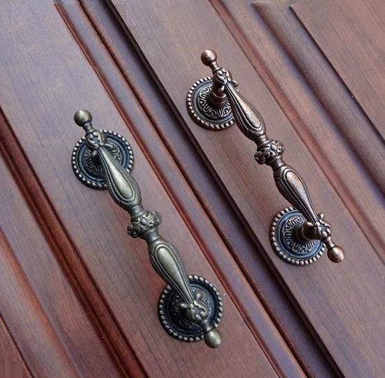 Dresser Pulls Drawer Pull Handles Antique Bronze Cabinet S Door Handle Metal Cupboard Vintage Furniture Hardware