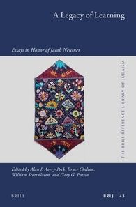 A Legacy Of Learning Essay In Honor Jacob Neusner World Religion Early Christian Jewish Books On Judaism