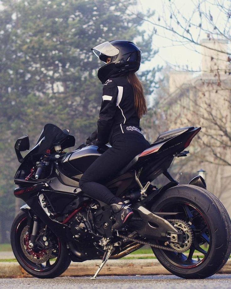 Hot Ladies On Bike! You Bet #Resplendent #bikelife #motorbike #bike #motorcycles #bikers #girls