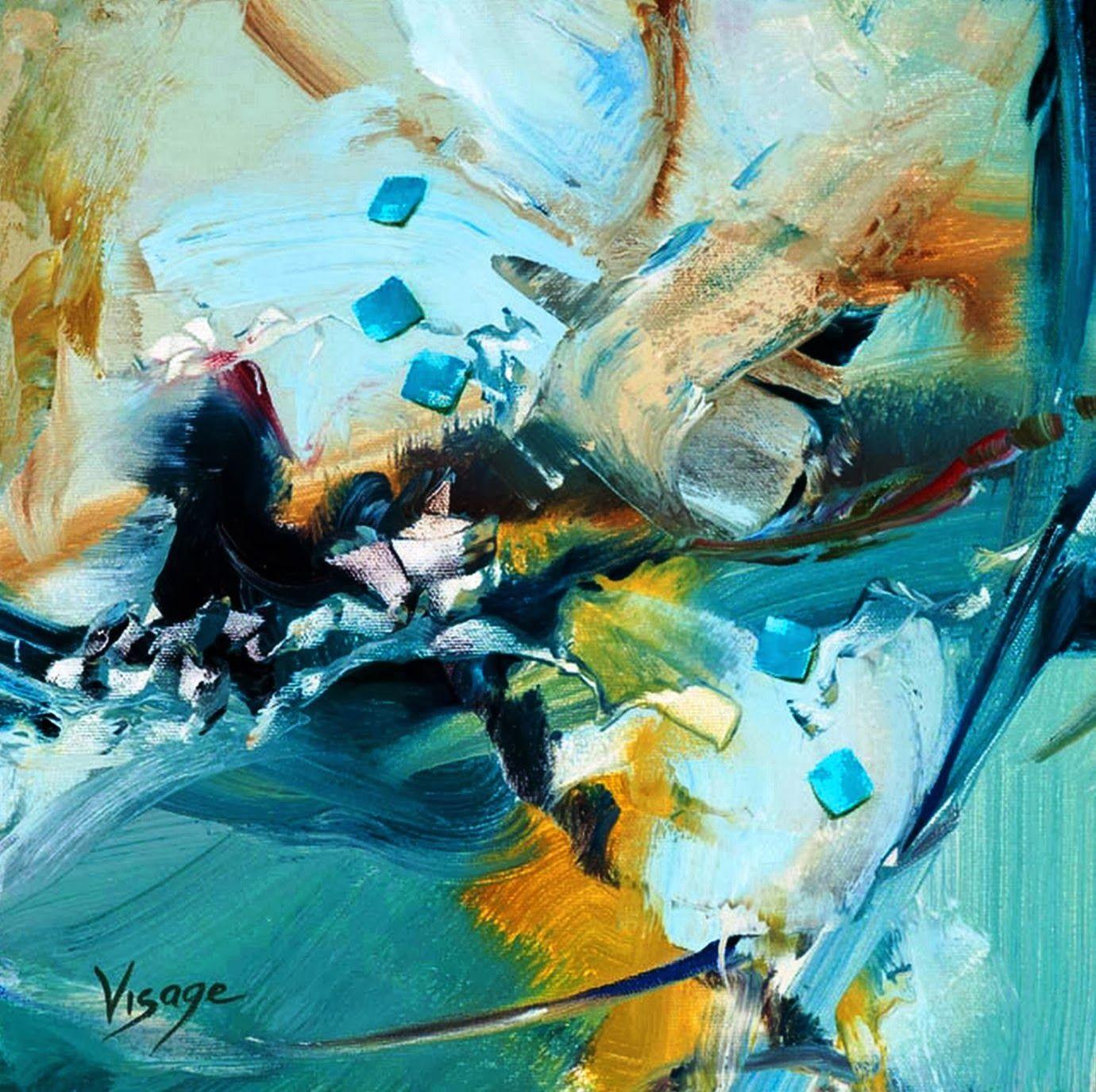 Cuadros abstractos modernos pintados al oleo pinturas - Fotos cuadros abstractos ...