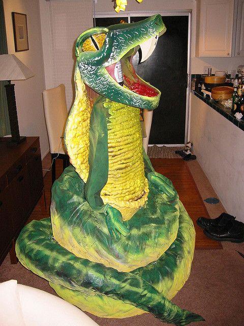 Kids Snake Costume Snake Head To Make A Snake Head