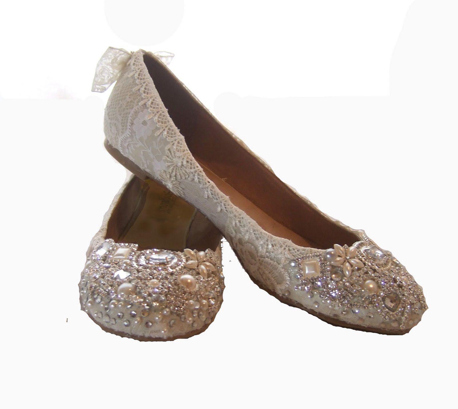 Pics For > Cute Flat Wedding Shoes | Shoes | Pinterest | Flat ...