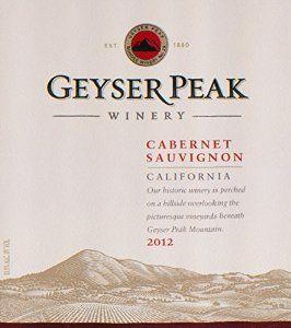 2012 Geyser Peak California Cabernet Sauvignon 750 mL