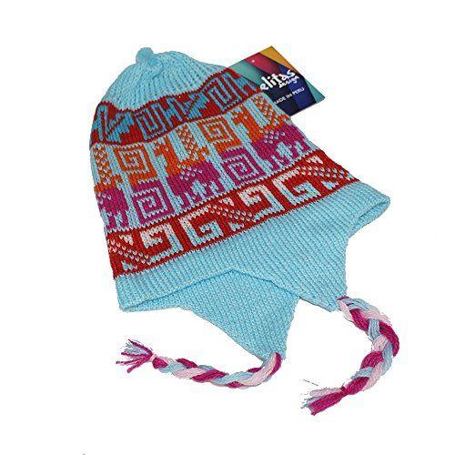 b94c557243d CAP HAT CHULLO alpaca wool blend made in Peru colors Turq ...