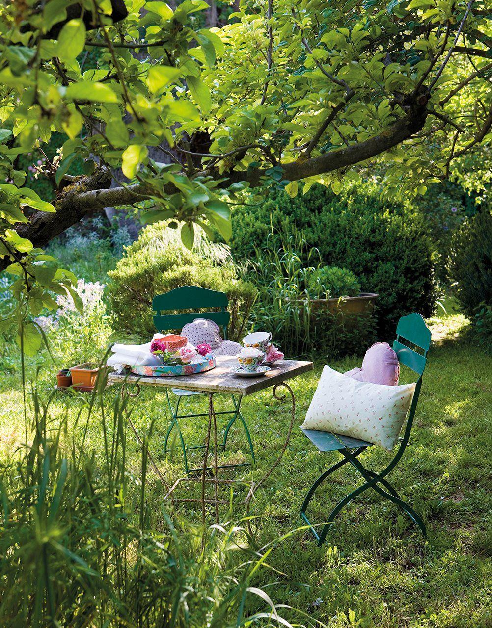 Con encanto campestre en 2019 ideas para la casa de for Sillas para terraza y jardin