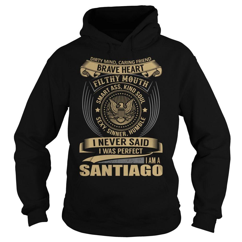 SANTIAGO Last Name, Surname T-Shirt