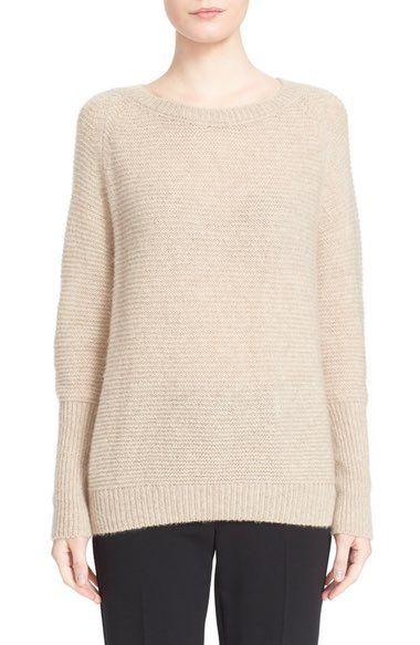 MAX MARA 'Orbita' Cashmere & Silk Sweater. #maxmara #cloth #