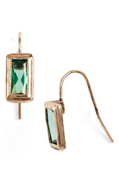 Lauren Ralph Lauren Small Stone Drop Earrings available at #Nordstrom