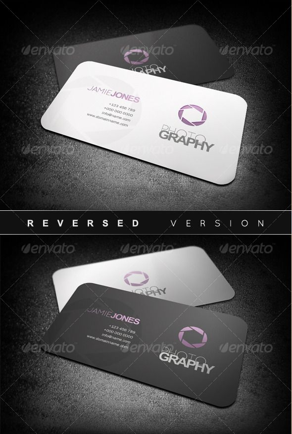 Photography business cards pinterest photography business photography business cards graphicriver item for sale reheart