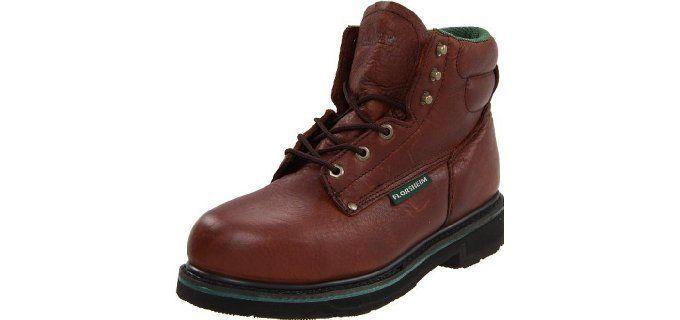 b5db84e9a78 Florsheim Work Men s FE665 Steel-Toed Work Boots for Flat Feet ...
