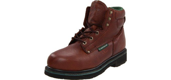 Steel toe shoes for flat feet