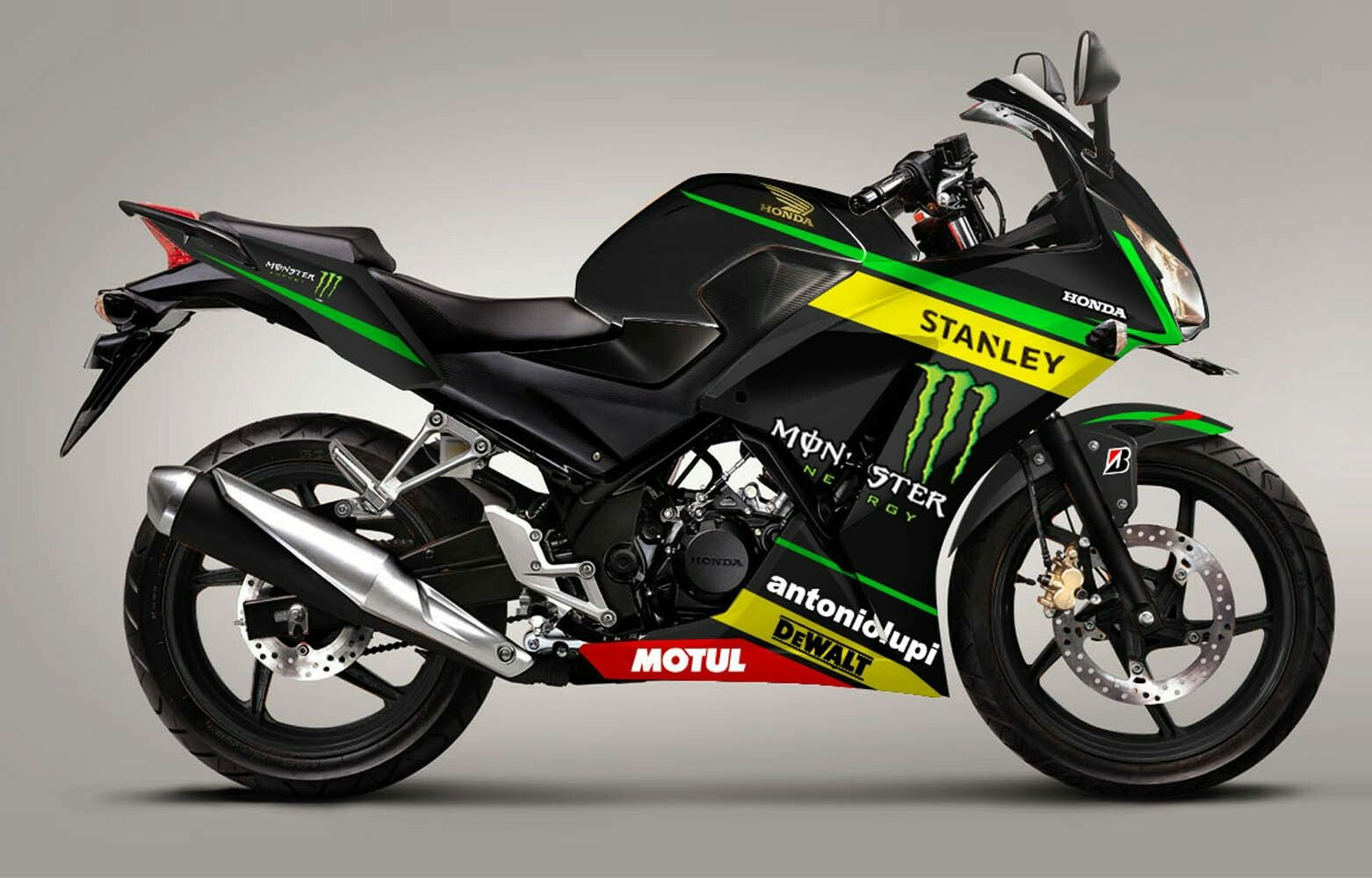 Modifikasi Honda Cbr 150r Honda Cbr Honda Motorcyle