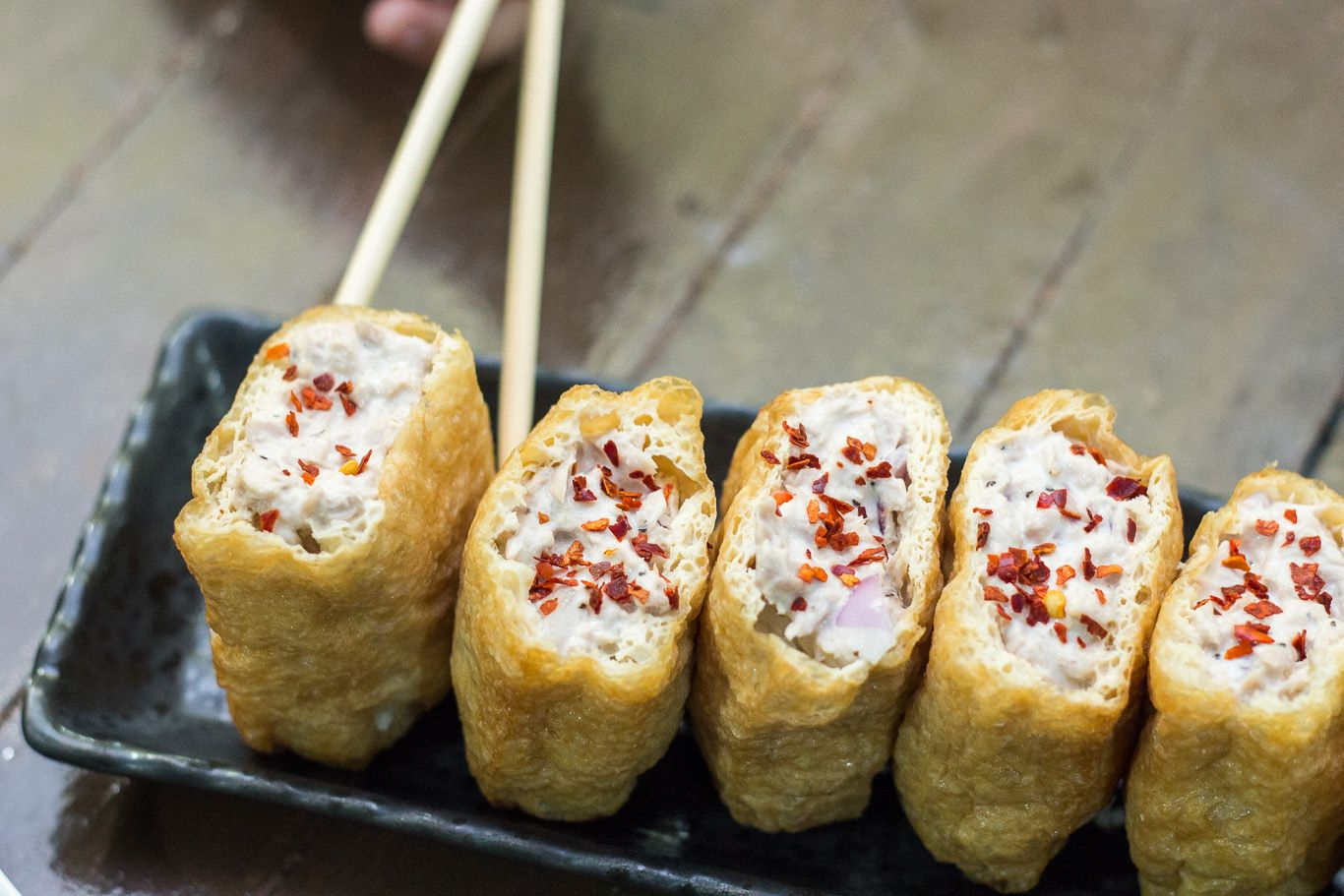 Easy inari sushi recipe food share foodies unite kitchen time easy inari sushi recipe forumfinder Choice Image