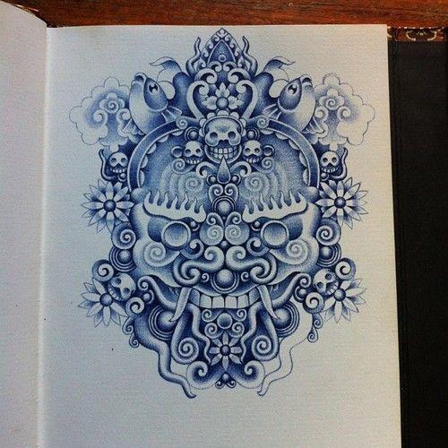 Bic ballpoint pen Illustration by Erik de Haan