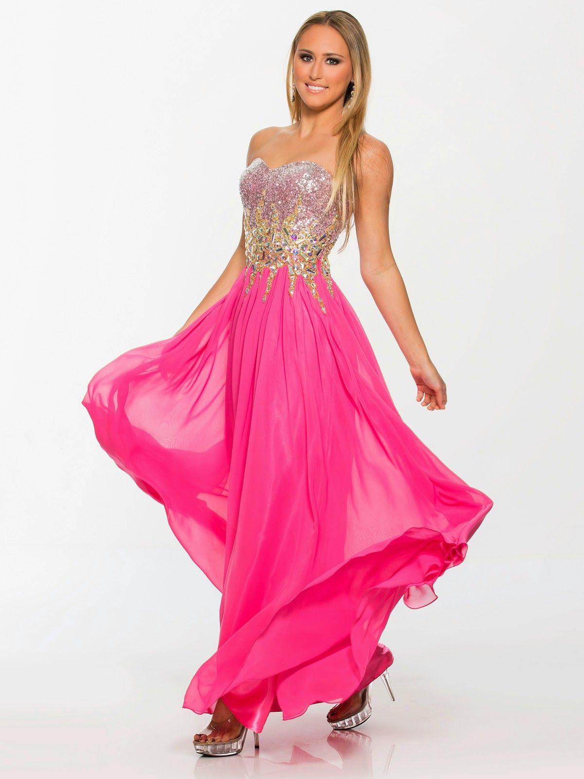 Magnificos vestidos de fiesta lagos | Vestidos de fiesta de gala ...