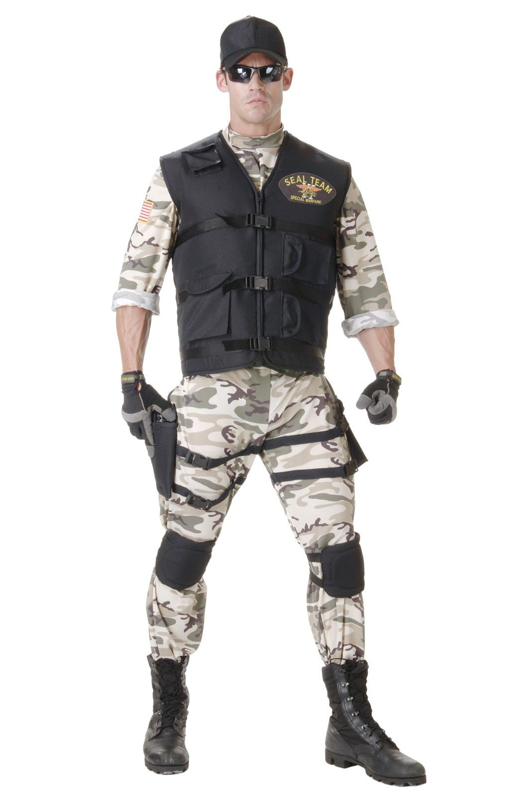 Buy costumes online like the SEAL Team Standard Adult Costume from Australiau0027s leading costume shop.  sc 1 st  Pinterest & SEAL Team Standard Adult Costume   Occupation Costumes   Pinterest ...