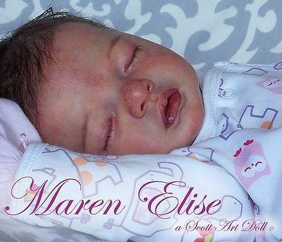 Reborn, baby, newborn, doll, girl, OOAK, Julietta, by Natalie Blick