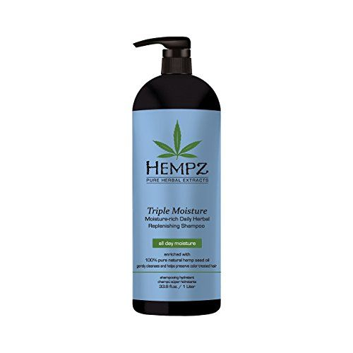 Hempz Triple Moisturerich Daily Herbal Replenishing Shampoo Pearl