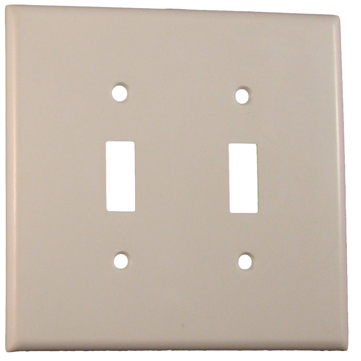 Glow In The Dark V2gang Wall Cover Plate White Plastic Standard Size For Double Toggle Switch 3 Pack Be Sure To Check Wall Coverings Glow In The Dark Glow