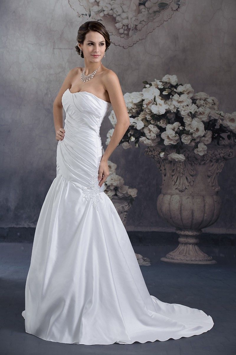 30+ Satin mermaid wedding gown ideas in 2021
