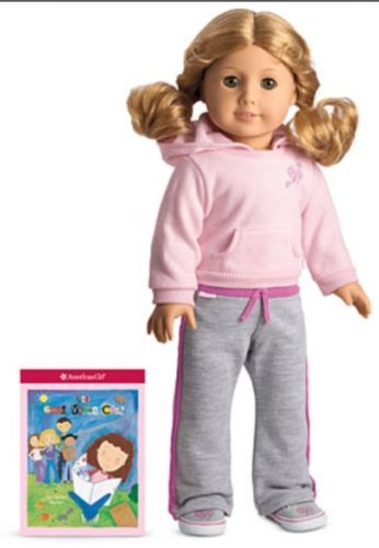 Genuine #american girl doll #clothes- #petal hoodie outfit in box + book,  View more on the LINK: http://www.zeppy.io/product/gb/2/262372999163/