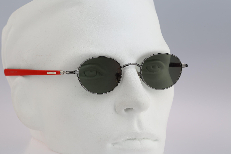 Jean Paul Gaultier 55 0045 Titanium Vintage 90s Unique Etsy Small Round Sunglasses Round Sunglasses Round Sunglasses Men