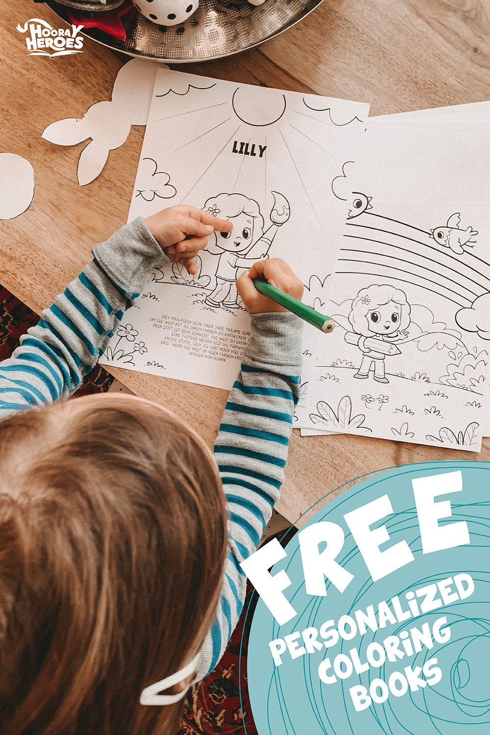 Free Personalized Printables From Hooray Heroes Hooray Heroes Coloring Books Personalized Coloring Book Hooray Heroes