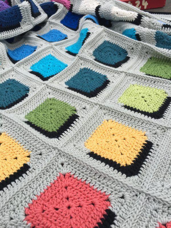Double A Design Blanket : Free Crochet Pattern | Häkeln | Pinterest ...
