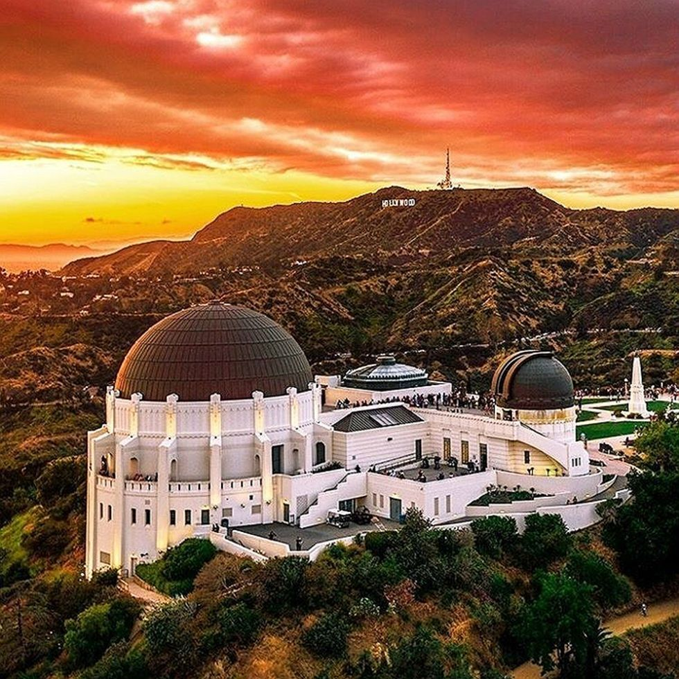 Griffith Observatory Los Angeles By Tdangphoto By Californiafeelings Com California Cali La Ca Sf Sandiego Griffith Observatory Los Angeles Sunny California