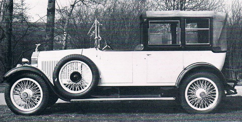 Open-drive Cabriolet by Barker (chassis GYK85)