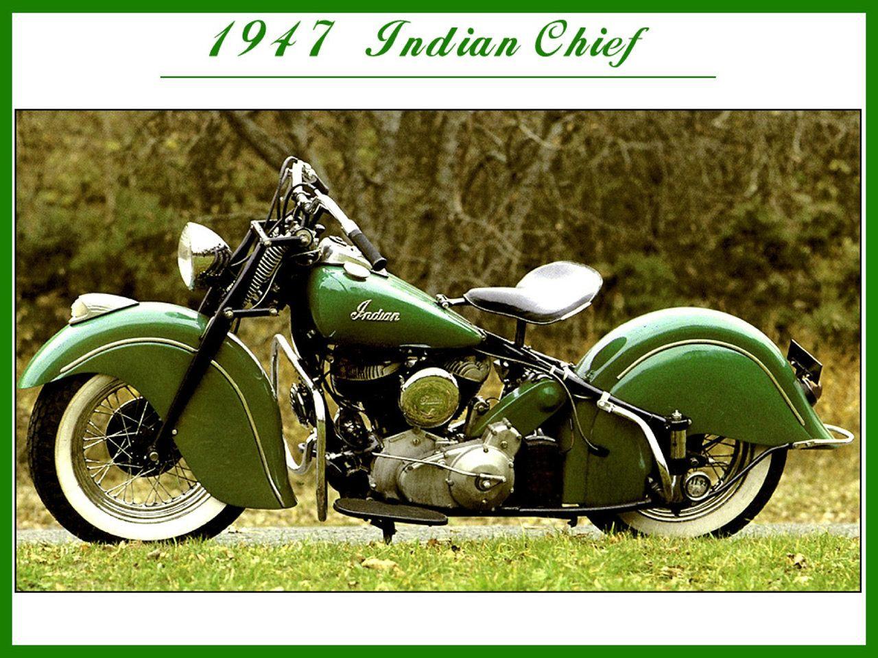 1947 Indian Chief Indian Motorcycle Indian Motorcycle Logo Indian Motorbike