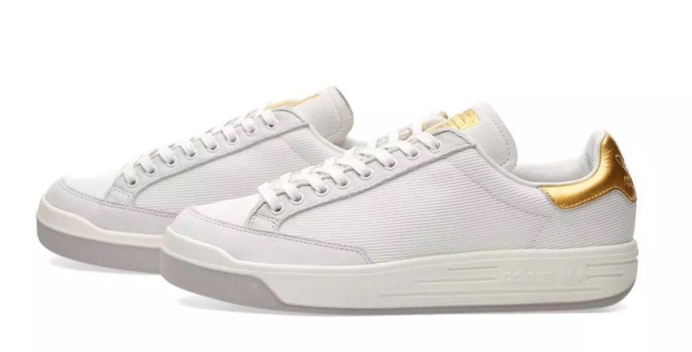 Adidas Rod Laver Super Gold White Boost Ultra Tennis Casual