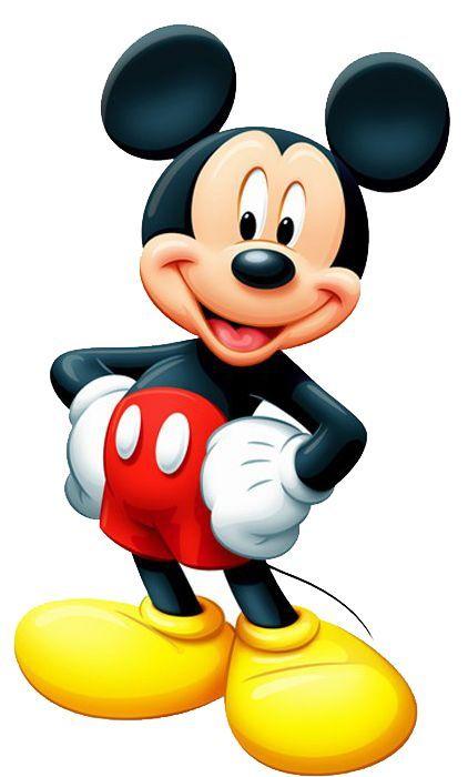 Mickey Tradicional Kit Completo Com Molduras Para Convites