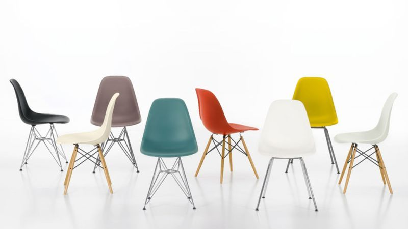 20 Ways To Hack A Classic Eames Side Chair Eames Side Chair Eames Plastic Chair Vitra Chair
