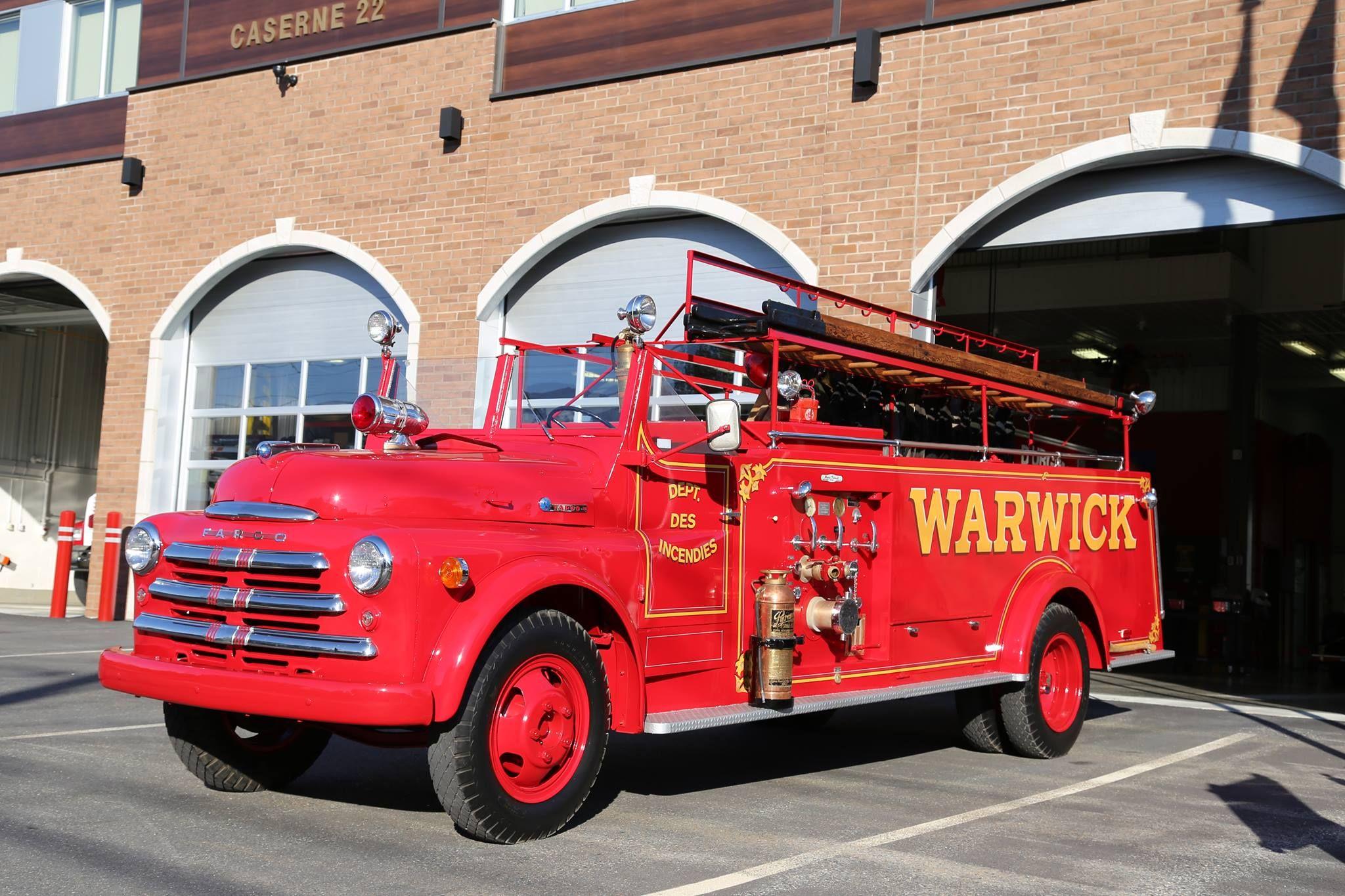 1949 50 Dodge Fire Trucks Emergency Vehicles Fire Apparatus