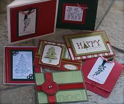 homemade christmas cards - Google Search november-stamp-a-stack