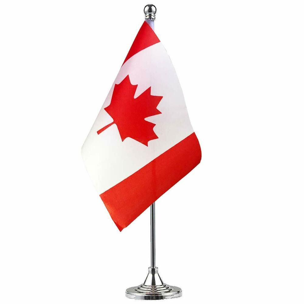 Gentlegirl Canada Flag Canadian Flag Table Flag Desk Flag Office Flag Decoration Ebay Flag Decor Small Flags Table Flag