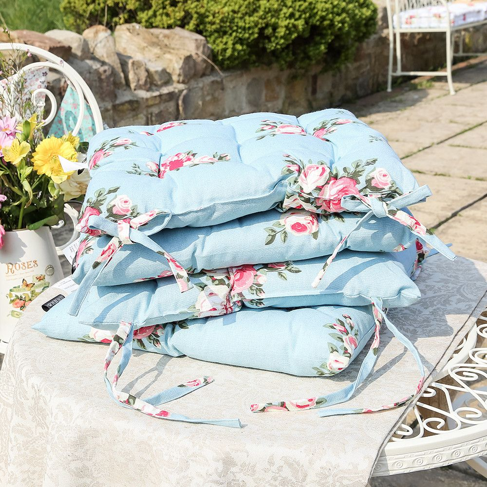 Are You Interested In Our Seat Pads Set Of Four Seat Pads Cushions? With  Our Seat Cushions Floor Cushions Floral Cushion You Need Look No Further.