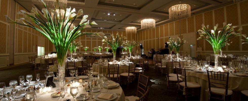 Ballroom Wedding Reception At D Arrowwood